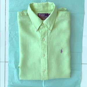 Polo Ralph Lauren Long Sleeve Linen Shirt